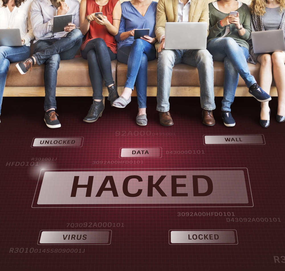 people using hacked devices