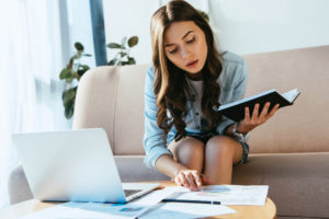 WomanWorkingFromHome Covid-19 Business Challenges: from Cybercrime to Remote Technology
