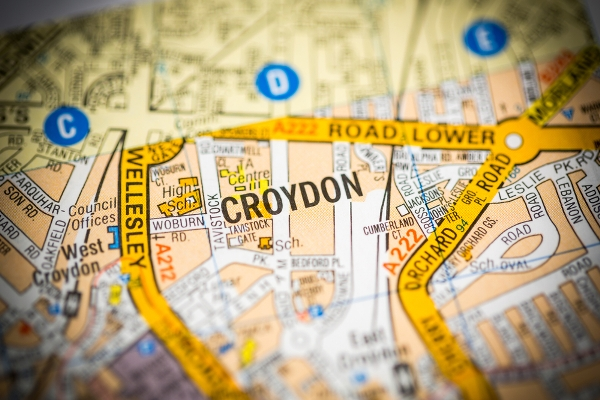 Croydon on map What to do in Croydon